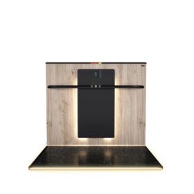Backpanel mit Design